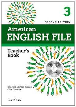 American English File Second edition Level 3 Teacher's Book with Testing Program CD-ROM