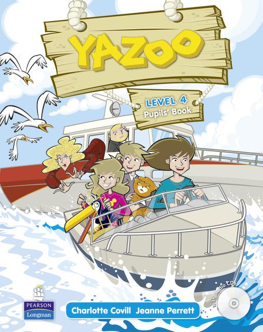Yazoo 4 Pupils' Book (with audio)