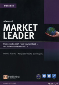 Market Leader 3rd Edition Advanced Flexi Coursebook with Practice File A with DVD-ROM and Audio CD