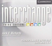 Interchange Third Edition All Levels Teacher's Manual on CD-ROM