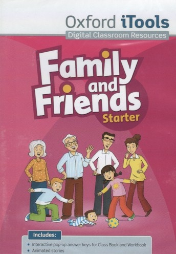 Family and Friends Starter iTools DVD-ROM