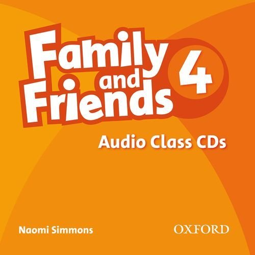 Family and Friends 4 Class Audio CDs