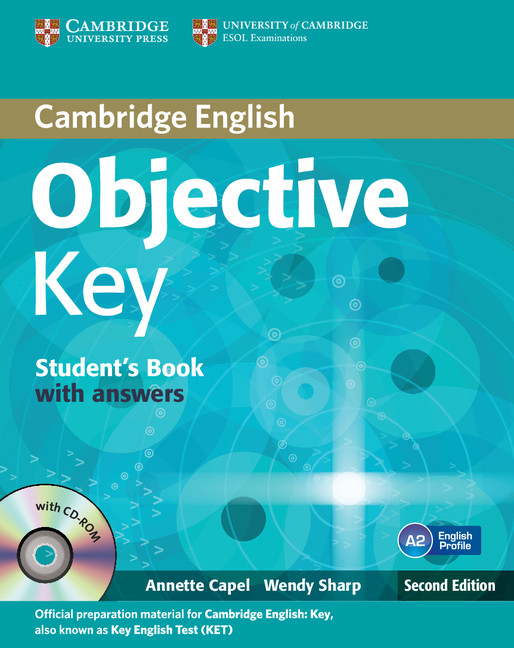 Objective Key (Second Edition) Student's Book with answers with CD-ROM