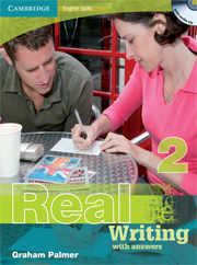 Cambridge English Skills: Real Writing Level 2 Book with answers and Audio CD
