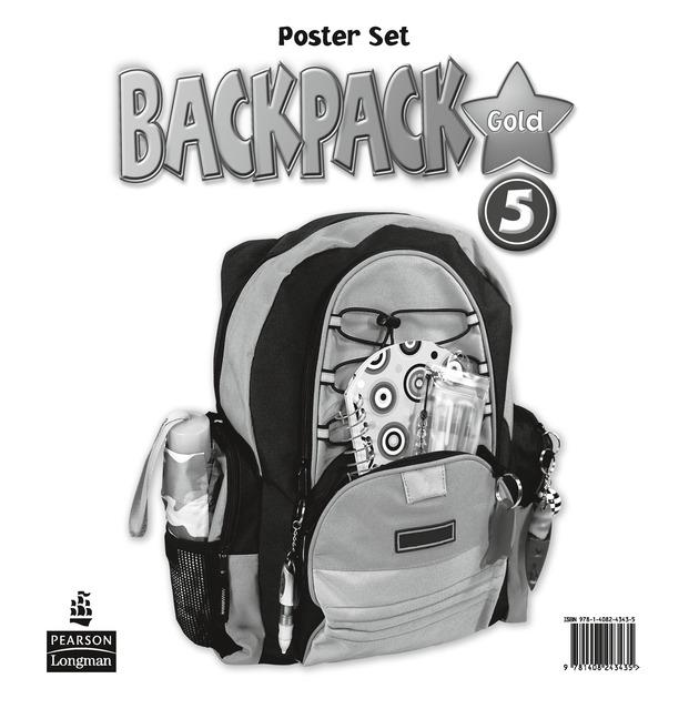 Backpack Gold Level 5 Posters