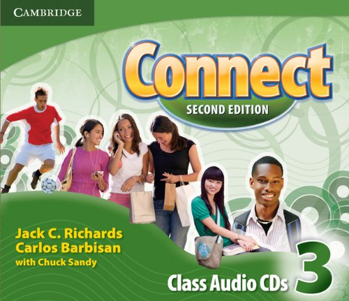 Connect Second Edition: 3 Class Audio CDs (3)