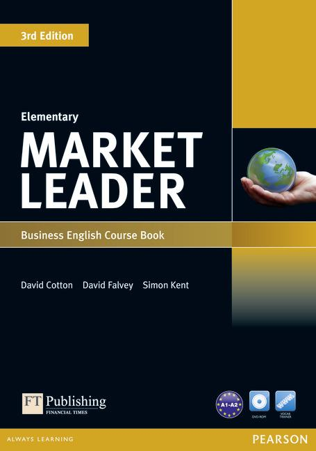 Market Leader 3rd Edition Elementary Coursebook and DVD-ROM Pack