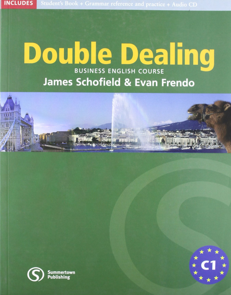 Double Dealing Upper Intermediate Student Book with CD