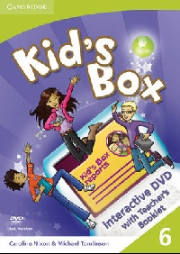 Kid's Box Level 6 Interactive DVD PAL with Teacher's Booklet