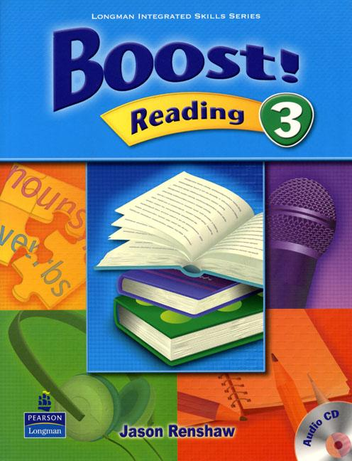 Boost Reading 3 Student's Book with Audio CD
