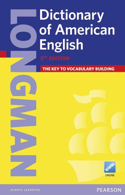 Longman Dictionary of American English and Online (Paperback)
