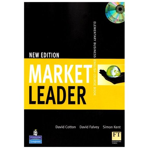 New Market Leader Elementary Coursebook with Multi-Rom and Audio CD