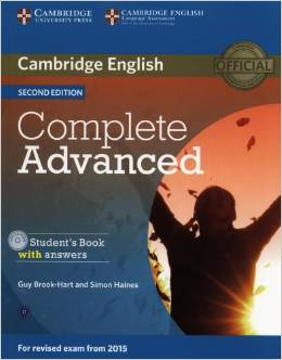 Complete Advanced 2nd edition (for revised exam 2015) Student's Book with Answers with CD-ROM