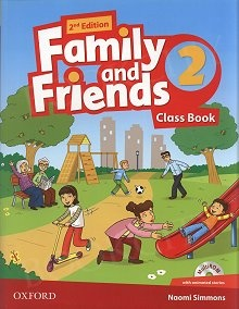 Family and Friends Second Edition 2 Class Book and multiROM Pack