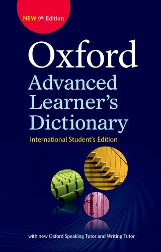Oxford Advanced Learner's Dictionary (9th Edition) International Student's edition