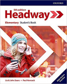 Headway Fifth Edition Elementary Student's Book with Online Practice