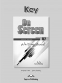 On Screen Revised B2 Writing Book Key