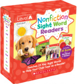 Nonfiction Sight Word Readers Parent Pack: Level A (25 books)