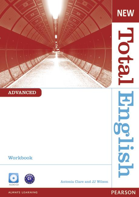 New Total English Advanced Workbook (without Key) and Audio CD