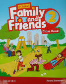 Family and Friends Second Edition 2 Class Book with Student's Site