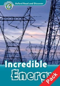 Oxford Read and Discover Level 6 Incredible Energy Audio CD Pack