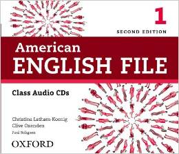 American English File Second edition Level 1 Class Audio CD (4)