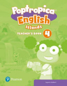 Poptropica English Islands 4 Teacher's Book with Online World Access Code + Test Book pack