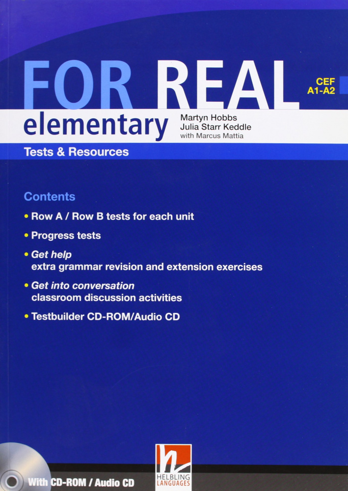 For Real Elementary Test Resource + CD+CDR