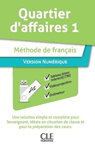 Quartier d'affaires 1 (A2)  Version numerique collective pour TBI et projection