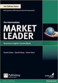 Market Leader 3rd Edition Extra Pre-Intermediate Coursebook and DVD-ROM Pack
