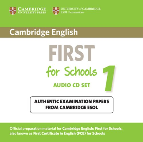 Cambridge English First for Schools 1 Audio CDs (2) (Лицензия)