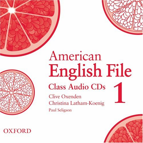 American English File 1 Class Audio CDs (3)
