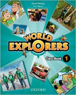 World Explorers Level 1 Class Book