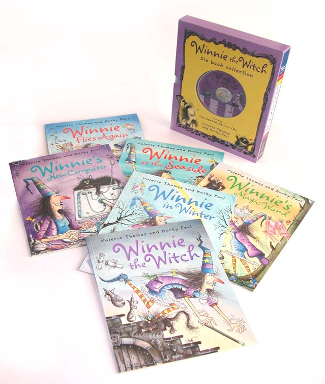 Winnie the Witch: Six Book & Two CD Collection (Paperback)