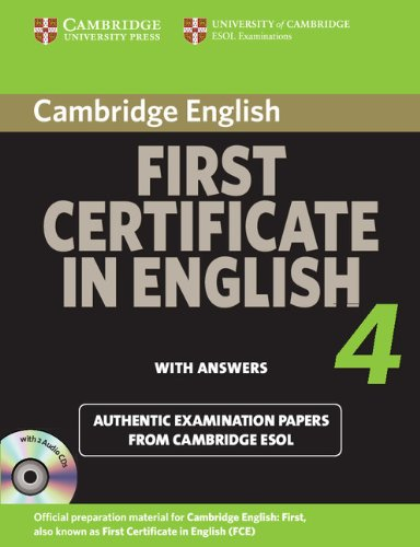 Cambridge First Certificate in English 4 for Updated Exam Self-study Pack