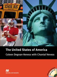 Macmillan Cultural Readers: The United States of America with Audio CD (Intermediate)