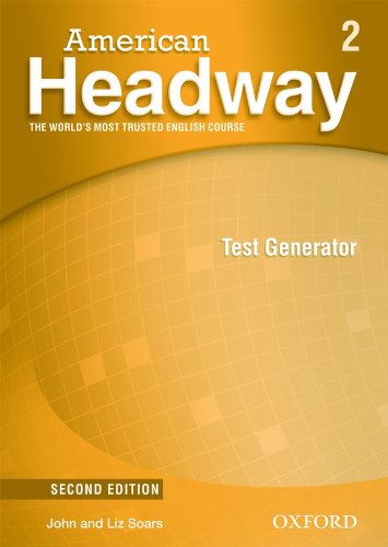 American Headway Second Edition 2 Test Generator CD-ROM