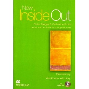 New Inside Out Elementary Workbook with key + Audio CD Pack