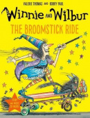 Winnie and Wilbur: The Broomstick Ride (Paperback + CD)