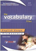The Vocabulary Files English Usage Elementary A1 Student's Book