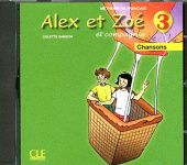 Alex et Zoe 3 Audio CD (individuel)