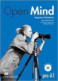 Open Mind Beginner Workbook without Key and CD Pack