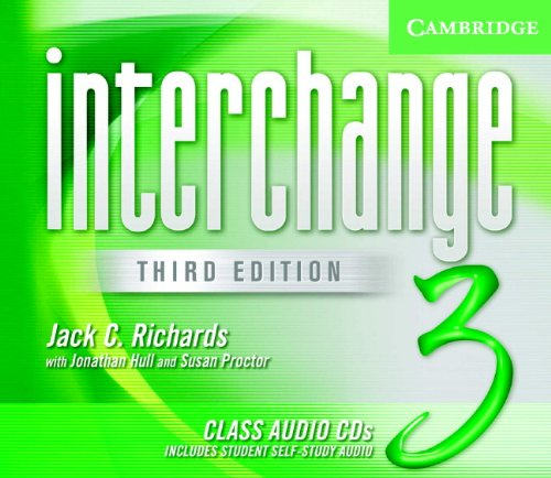 Interchange Third Edition Level 3 Class Audio CDs (3) (Лицензия)