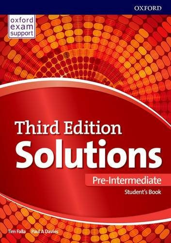 Solutions Third Edition Pre-Intermediate Student's Book