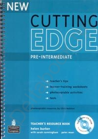 New Cutting Edge Pre-Intermediate Teacher's Book with Test Master CD-ROM