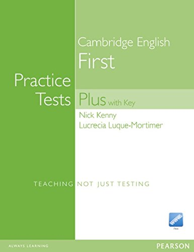 First Certificate Practice Tests Plus New Edition Students Book with Key, iTest CD ROM and Audio CD