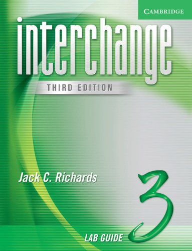 Interchange Third Edition Level 3 Lab Guide