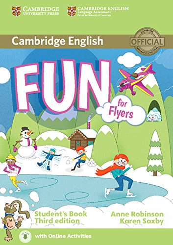 Fun for Flyers 3rd Edition Student's Book with Online Activities