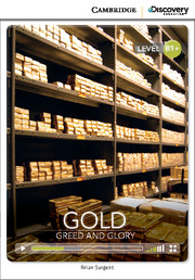 Cambridge Discovery Education Interactive Readers (B1+) Intermediate Gold: Greed and Glory (Book with Online Access)