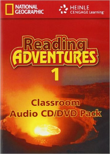 Reading Adventures 1 Audio CD/DVD Pack